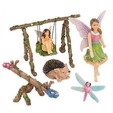 jardin de hadas en miniatura