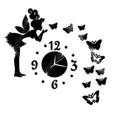 reloj de pared de hadas