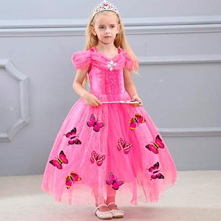 vestidos de mariposas para niñas