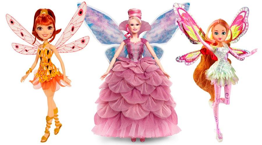 muñecas de hadas bonitas