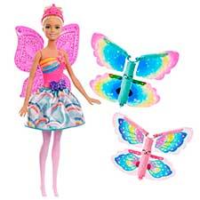 Muñeca Barbie Dreamtopia Hada Alas Mágicas