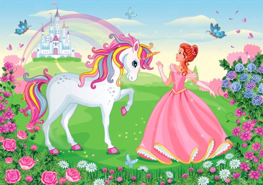 el hada y el unicornio